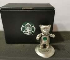 Starbucks Malaysia Bearista Bear Figurine + Royal Selangor