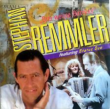 """7"""" 1988 STEPHAN REMMLER & STATUS QUO Drei weisse Birken"""