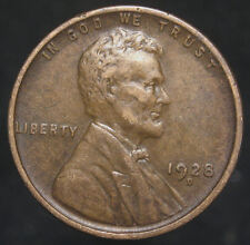 1928-D LINCOLN HEAD WHEAT CENT PENNY NICE COIN higher grade Low Shipping(K 1233)