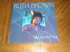 RUTH BROWN / HAVE A GOOD TIME ~ 1988 Fantasy Promo Album w Press Kit ~ MINT