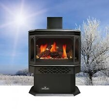 Napoleon Gas Fireplace GDS28 Stove Free Standing Efficient Propane Natural Log