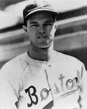 1940s Boston Braves JOHNNY SAIN Glossy 8x10 Photo Major League Baseball Print