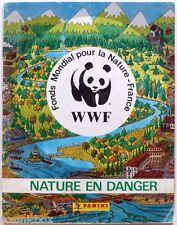 Album PANINI WWF NATURE en DANGER image autocollante 314 vignettes animaux 1988