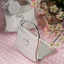 12 Pocketbook Purse Design Compact Mirror Favor Wedding Bridal Shower Favors