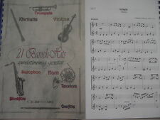 Noten - 21 Barock-Hits für Querflöte - zweistimmig