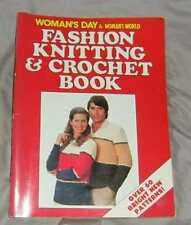 "VINTAGE, RETRO WOMAN'S DAY & WOMAN""S WORLD FASHION KNITTING & CROCHET  BOOK"