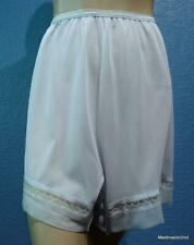 VINTAGE SHEER PALE BLUE NYLON FRENCH KNICKERS PANTIES UNION LABEL Lg US 8 NWOT