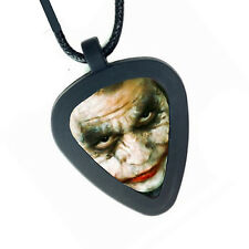 Batman The Dark Knight Joker Pickbandz Mens or Womens Real Guitar Pick Necklace