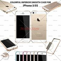 New Aluminum Metal Hard Frame Bumper Cleave Case Cover For Apple iPhone 5 5S