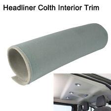 Grey/Gray Headliner Headlining Fabric Material Foam Backing Renew/Fixed 72