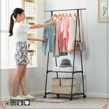 Clothing Coat Rack Landing Holder Hanger Floor Standing Organizer Storage Shelf
