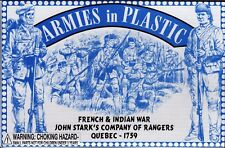 Armies in Plastic French & Indian War John Stark's Rangers 1/32 Scale 54mm
