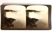USA Niagara Falls Vista Générale c1903 Foto Stereo Vintage Analogica