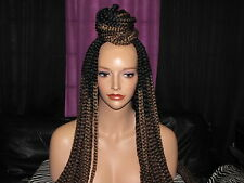 A Perfect Match Wigs,Crochet Box Braid Wig,T30 T27 20 inches Lace Closure Braids