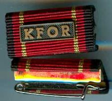 Bundeswehr:Bandschnalle:KFOR mit Nadel