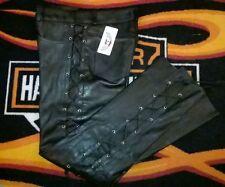 Pantalone BIKER in Pelle Bovina - Brand OSX - Size 50 - Listino € 189,90