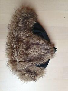 Chapka Wintermütze, Bombermütze, Herren, schwarz, H&M, Größe 60, warm