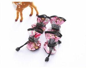 Pet Dog shoes Waterproof chihuahua Anti-slip boots zapatos para perro puppy cat