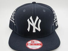 NY Yankees Blue Throwback Vintage Retro New Era 9FIFTY MLB Snapback Hat Cap