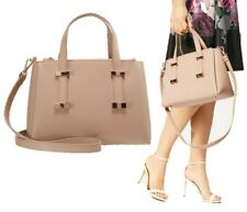 🎁 NWT Ted Baker London Julieet Small Leather Tote Shoulder Bag Taupe $295
