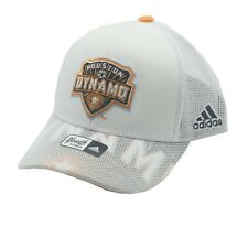 Houston Dynamo Official MLS Adidas Youth Boys OSFM Snap Back Hat Cap New
