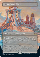 Urza's Power Plant - Foil - Borderless x1 Magic the Gathering 1x Double Masters