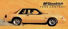 """REPRODUCTION BF GOODRICH RADIAL T/A ADVERTISING BANNER FORD MUSTANG 96"""" x 42"""""""