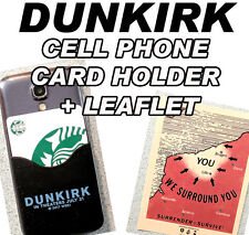 DUNKIRK movie promo PHONE CARD HOLDER pocket Christopher Nolan Harry Styles WWII