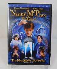 """2006 NANNY McPHEE Full Screen DVD ~ """"The New Mary Poppins!"""" ~ Great Condition!"""