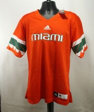 Miami Hurricanes adidas NCAA Men s Premier Football Jersey - Orange 7eb00db09