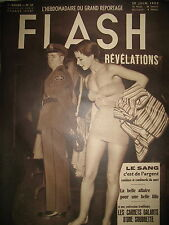FLASH N° 23 MICRONESIE (2) CARNETS GALANTS D'UNE SOUBRETTE PIN-UP REPORTAGE 1950