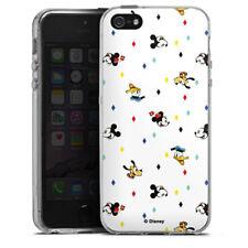 Apple iPhone 5 Silikon Hülle Case - Disney Carnival Pattern
