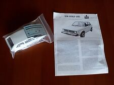 Kit Esci N. 3006 Volkswagen VW Golf GTI Scala 1/24 Set Hobby Model / Maquette