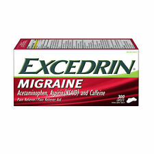 Excedrin Migraine Coated Caplets Headache Pain Reliever 300-count
