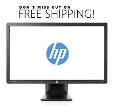 "HP EliteDisplay E201 20"" Widescreen LCD Monitor w/ VGA & power cables Free Ship"