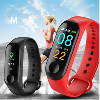 Smart Watch Bracelet Wristband Fitness Tracker Blood Pressure Heart Rate M3s SD