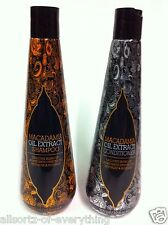 Set Of 2 Macadamia Nut Oil Extract 400ml Shampoo & 400ml Conditioner Hair Care