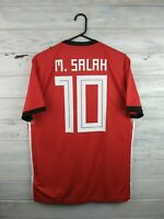 Salah Egypt  jersey medium 2018 2019 home shirt BR3730 soccer football Adidas