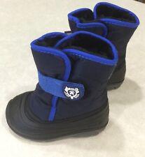 "KAMIK ""Snowbug3"" Toddler Navy Snowboots~~Size 9"