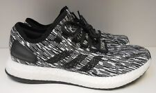 NEW HTF 10 Adidas Pureboost Core Black BB6280 Knit Textile Running Shoe BARGAIN!