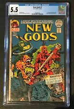 New Gods # 7 CGC FN- 5.5 DC 1972 1st App Of Steppenwolf Origin Of Mister Miracle