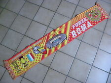 ECHARPE SCARF SCIARPA ULTRAS FOOTBALL ITALIE CALCIO AS ROMA FORZA ROMA