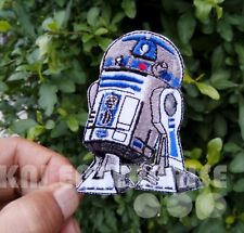 Star Wars Patch | R2D2 | High Quality | Iron on Sew on Embroidered Patch