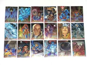 1995 FLEER ULTRA X-MEN CHROMIUM 100 CARD SET MARVEL HAUNTED MANSION DEADPOOL!