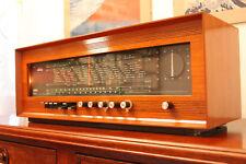 ANTICA_RADIO Saba Stereo 1 SRI-16 Tube Amp Radio Tuberadio Restored TOP!