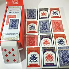 Playing Cards  Lot Of 12 Decks  Standard Poker Size Plastic Coated Waterproof