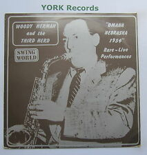 WOODY HERMAN & THE THIRD HERD - Omaha Nebraska 1954 - Ex LP Record Swing World