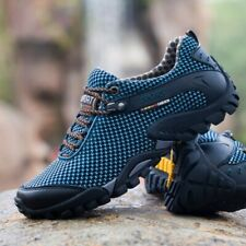 Climbing Shoes Men High Quality Cow Leather Trekking Fishing Shoes WomenBreathab