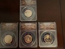 2019 S 4-Coin American Innovation Dollar Proof Set ANACS PR70 First Strike