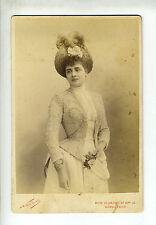 """(B2) Grande Photo CDV Nadar """"chanteuse actrice opéra théâtre"""" DE MARSY"""